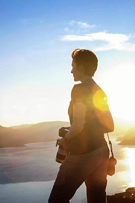 Photograph - Shooting New Zealand by Amber Kresge