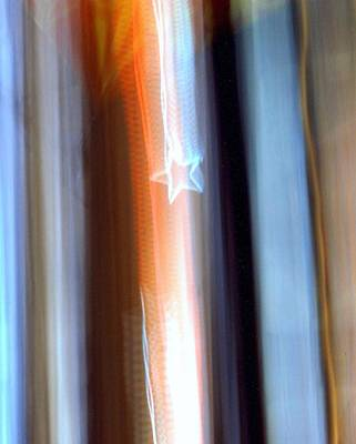 Photograph - Shooting Stars Series Image 22 by Karin Kohlmeier