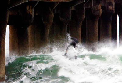 Photograph - Shooting The Pier by Gilbert Artiaga