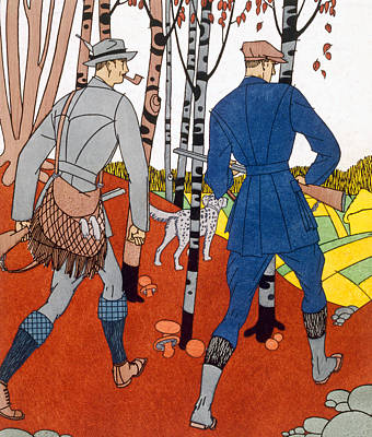 Shooting Trip Art Print by Maurice Taquoy