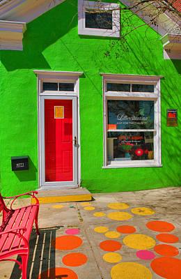 Storefront Photograph - Shop Colors by Steven Ainsworth