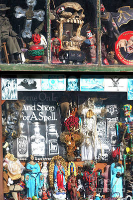 Voodoo Shop Wall Art - Photograph - Shop For A Spell New Orleans by John Rizzuto