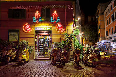 Photograph - Shop In Rome by Al Hurley