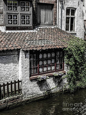 Photograph - Shop On The Canal by Lexa Harpell