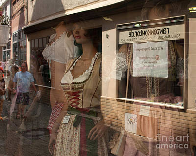 Photograph - Shop Window Reflection by Igor Kislev