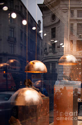 Photograph - shop window reflection, London by Igor Kislev