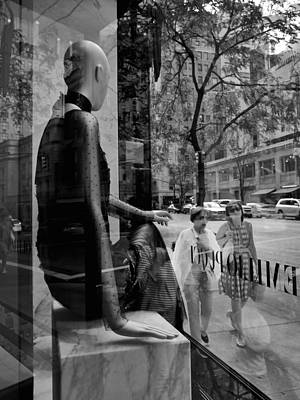 Photograph - Shoppers Observed by Cornelis Verwaal