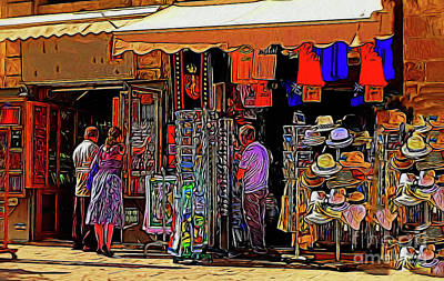 Photograph - Shopping 19818 by Ray Shrewsberry