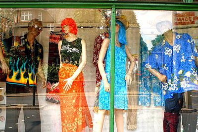Photograph - Shopping 60s Style by Jez C Self