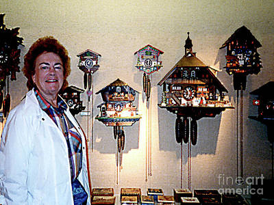 Photograph - Shopping For Cuckoo Clocks In Lugano, Switzerland by Merton Allen