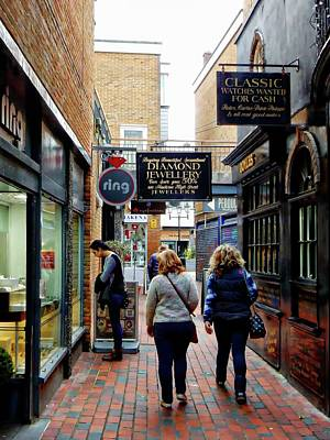 Photograph - Shopping For Jewellery In The Lanes Brighton by Dorothy Berry-Lound