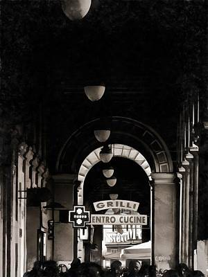 Photograph - Shopping Gallery Rome by Dorothy Berry-Lound