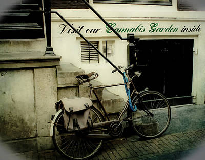 Photograph - Shopping In Amsterdam by Jill Smith