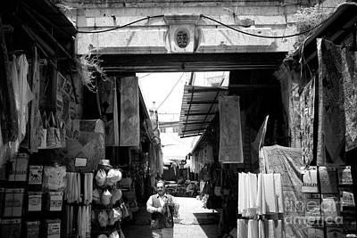 Photograph - Shopping In The Quarter by John Rizzuto