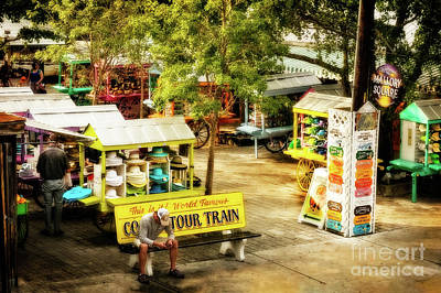 Photograph - Shopping Key West Style by Kay Brewer