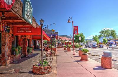 Photograph - Shopping Sedona by Ree Reid