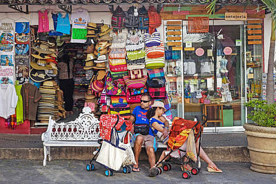 Photograph - Shopping Spreed, Puerto Vallarta, 2016 by John Jacquemain
