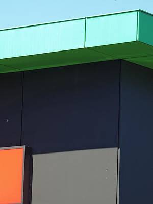 Photograph - Shopping Strip Geometry 2 by Denise Clark