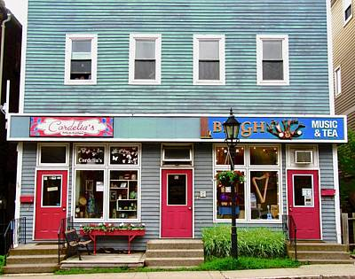 Photograph - Shops In Charlottetown by Stephanie Moore