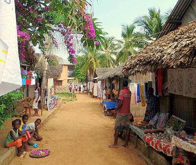 Photograph - Shops In Madagascar by John Potts
