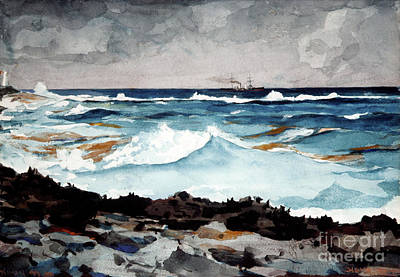 Painting - Shore And Surf, Nassau, 1899 by Winslow Homer