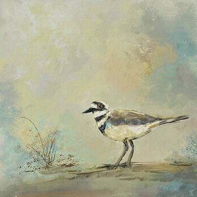 Painting - Shore Bird 2945 by Jai Johnson
