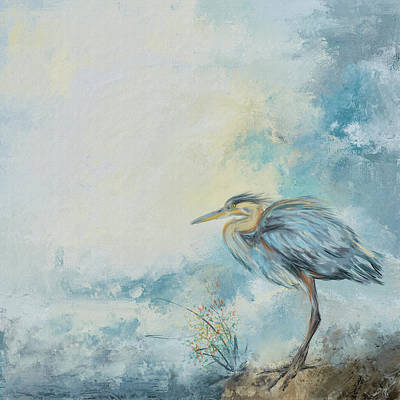 Painting - Shore Bird 8664 by Jai Johnson