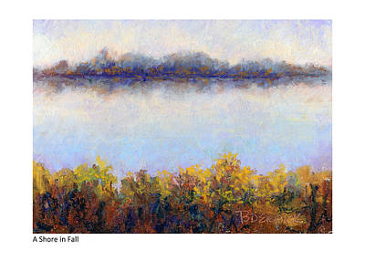 Pastel - Shore In Fall by Betsy Derrick