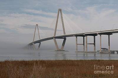 Photograph - Shore Line Fog by Dale Powell