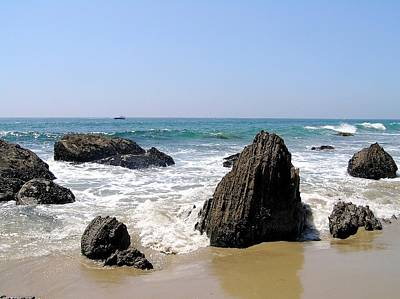 Photograph - Shore Rocks by Brian Eberly