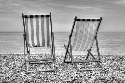 Photograph - Shore Seats by Hazy Apple
