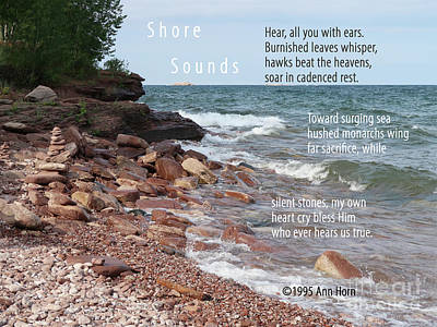 Photograph - Shore Sounds by Ann Horn
