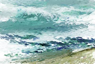 Digital Art - Shore4 by David Lane
