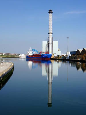 Photograph - Shoreham Port - Mv Skagern by Richard Reeve