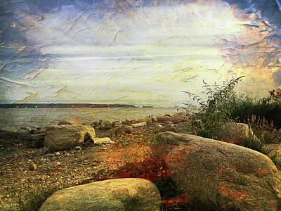 Ambleside Wall Art - Photograph - Shoreline At Dusk by Connie Handscomb