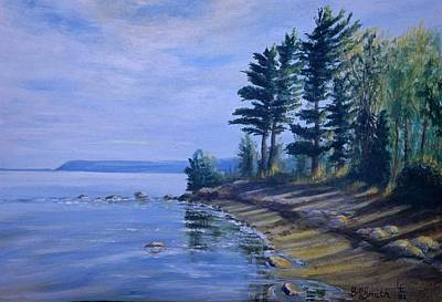 Painting - Shoreline by Barbel Smith