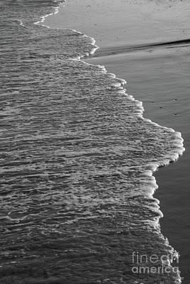 Photograph - Shoreline Beauty Grayscale by Jennifer White