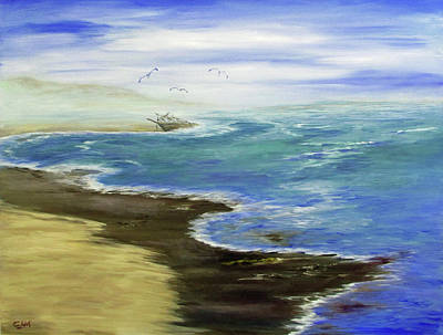 Painting - Shoreline by Catherine Link