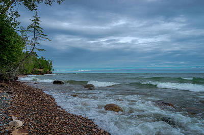 Photograph - Shoreline Clouds by Gary McCormick
