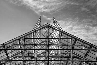 Photograph - Shoreline Greenhouse by Mary Jo Allen