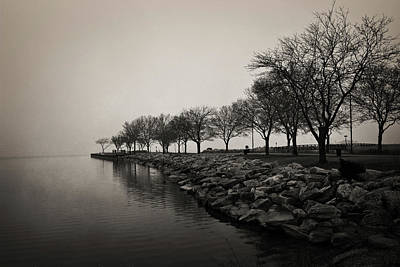 Photograph - Shoreline Mist by Shawna Rowe
