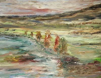 Shoreline Park Art Print by Edward Wolverton