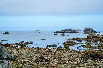 Ocean Photograph - Shoreline by Ric Schafer