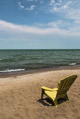 Photograph - Shoreline Solitude by Dale Kincaid