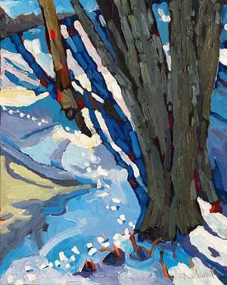 Shoreline Stroll Original by Phil Chadwick