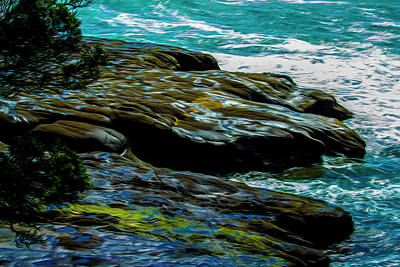 Photograph - Shoreline  by Stuart Manning