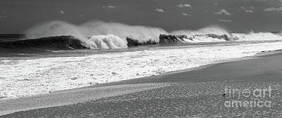 Photograph - Shoreline Waves by Mary Haber