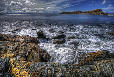 Photograph - Shoreline by Wayne Sherriff