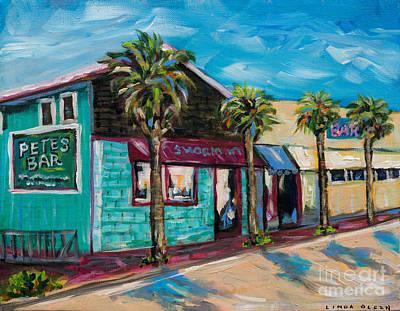 Shorelines Art Print by Linda Olsen