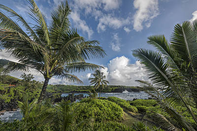 Photograph - Shores Along Hana by Jon Glaser